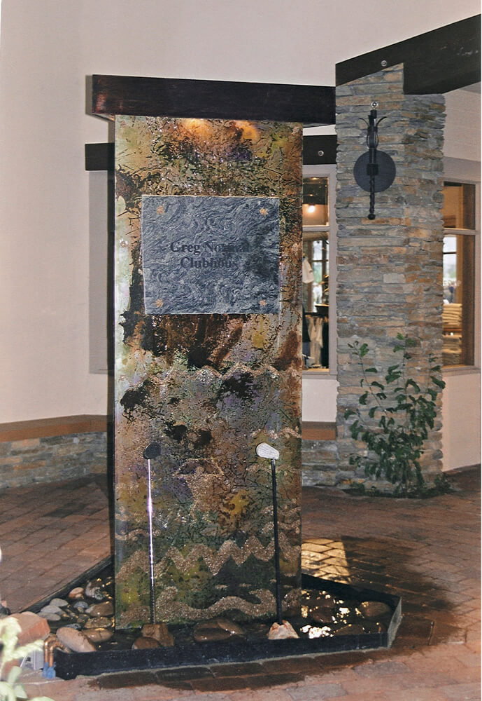Contemporary Water Features Raku Steel™ Mark Dobkin Studio