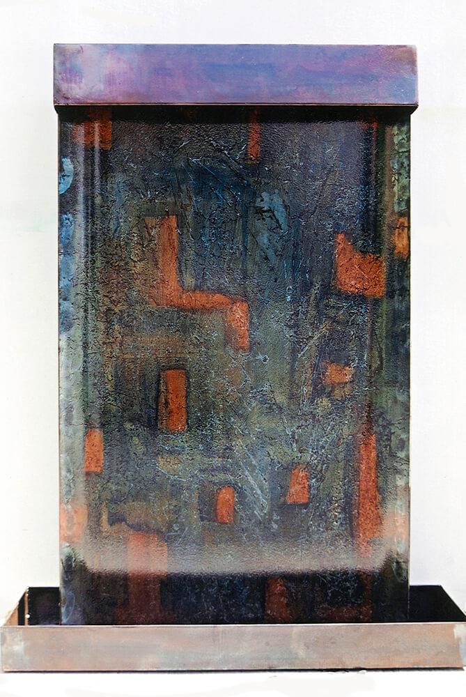 Raku Steel™ Mark Dobkin Studio Water Fall
