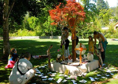 Mark Dobkin Studio Shrine of Love